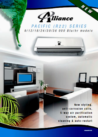 Pacific (R22) Series Airconditioner sidebanner