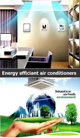 SAMSUNG Ceiling mounted Cassette Split Airconditioners side banner