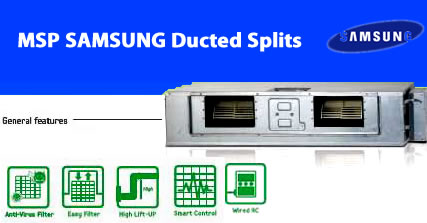 Samsung msp Ducted Splits aircondition
