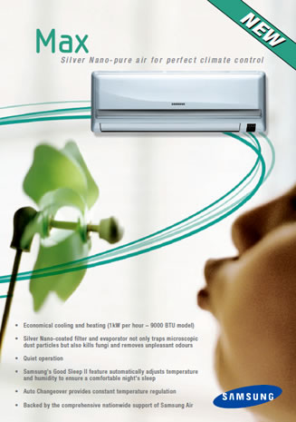 sumsung aircon advert